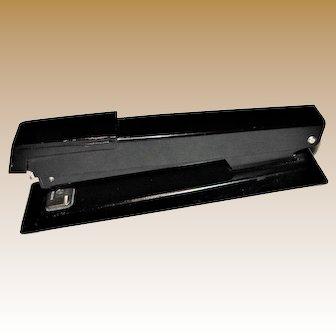 Vintage Bates 550 Stapler, Black, Made in USA, Excellent
