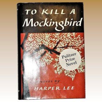 To Kill A Mockingbird by Harper Lee, Pulitzer Prize Novel, 1990 Intro. by Ellen Gilchrist, Near Mint