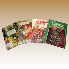 4 Christmas Craft/Living Albums, Packed w/ Ideas!