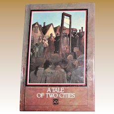 A Tale of Two Cities - Adapted into a Simpler Vocabulary by Patricia Krapesh illustrated by Charles Shaw, HC 1991, Children's Book, Like New