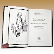 The Harvard Classics ~ Franklin, Woolman & Penn ~ Collector's Edition ~ 1987