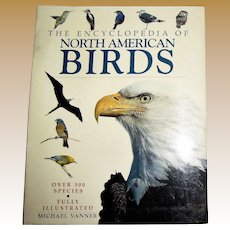 The Encyclopedia of North American Birds, Fully Illustrated, Over 500 Species, Like New
