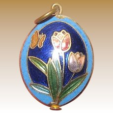 Charming Cloisonne Small Pendant or Charm No 1