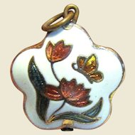 Charming Cloisonne Small Pendant or Charm No 2