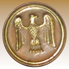 American Eagle Small Brass Wax Seal