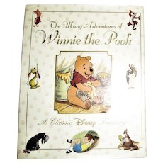 The Many Adventures of Winnie the Pooh (Disney) by Milne, A. A . HCDJ