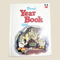 Disney's Year Book - Hardcover, Illustrated - Like New, Children Book