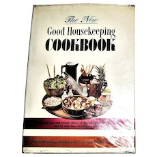 The New Good Housekeeping Cookbook by Dorothy B. Marsh 1963 HCDJ