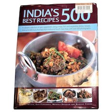 India's 500 Best Recipes: A Vibrant Collection of Spicy Appetizers, Tangy Meat, Fish and Vegetable Dishes HCDJ