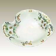 Hand Painted Vanity Tray, Bavaria Germany, Flower Design, Signed by Cecelia Lorz 1967, Mint