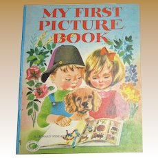 My First Picture Book by Leonard Weisgard, Grosset and Dunlap HC 1972 1st Edition
