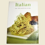 Italian - Over 180 Tantalising Recipes by Parragon, SC Like New