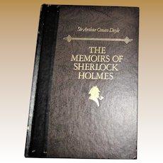 The Memoirs Of Sherlock Holmes - Sir Arthur Conan Doyle, Readers Digest 1988 HC Nearly New