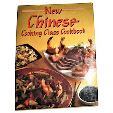 New Chinese Cooking Class Cookbook by Publications International 1990 HCDJ 1st Edition