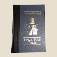 Twice-Told Tales by Nathaniel Hawthorne (1989, Hardcover, 1/4 Leather) Readers Digest, Like New