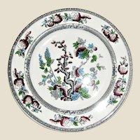 "Indian Tree 10"" Plate, Woods Burslem England, c.1931, Like New"