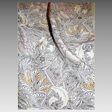 "Gray Silk Paisley 52"" Oblong Scarf"