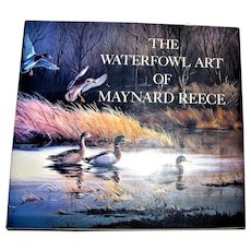 The Waterfowl Art of Maynard Reece, Harry N Abrams of New York 1986, Large