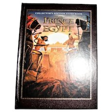 The Prince of Egypt Hardcover) Collector's Edition Storybook, 1st Edition, Children Age Level 6-12