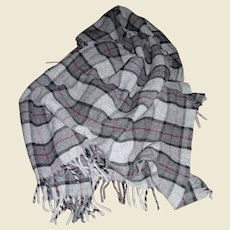 "Faribault Woolen Mills 52"" Throw or Lap Blanket"