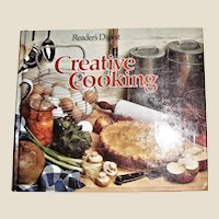 Creative Cooking, Readers Digest, HC 1978 3rd Printing, Like New