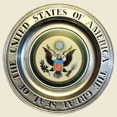 The Great Seal of the United States of America, Wilton RWP Pewter Plate, Mint
