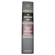 The Interpreter's Bible - Volume 6, Abingdon Press First Edition 1956, 21st Printing 1978 HC, Near Mint