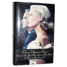 Once Upon a Time: Behind the Fairy Tale of Princess Grace and Prince Rainier HCDJ, Like New