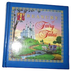 Treasury of Fairy Tales - Children's Picture Story Book Collection - 18 Stories  (Padded Hardcover) 1994, 1st Edition, Nearly New