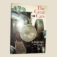 The Great Cars by Ralph Stein HCDJ 1967