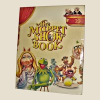 The Muppet Show Book  HCDJ  1978 Large, Nearly New, Preschool to 3rd Grade