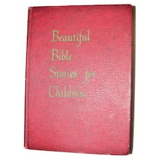 Beautiful Bible Stories for Children by Patricia Summerlin Martin HC 1963 1st Edition, Elementary Age Children