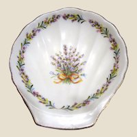 Flambro Sweet Lavender Bone China Trinket Dish