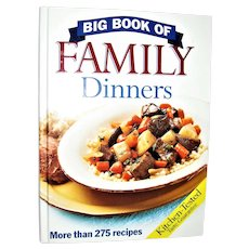 Big Book of Family Dinners by Grand Avenue Books, HC 1st Edition, Like New