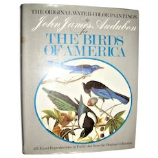 The Original Watercolor Paintings by John James Audubon for the Birds of America, 1966 Large, Near Mint
