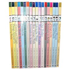 Set of 16 ~ Time Life ~ A Child's First Library of Learning ~ Hardcover Books, Near Mint
