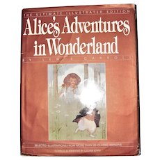 Alice's Adventures in Wonderland: The Ultimate Illustrated Edition-HC/DJ-1989