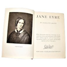 Jane Eyre by Charlotte Brontë (Great Illustrated Classics) 1941 HC