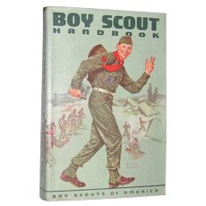 1959, Boy Scout Handbook, Sixth Edition, First Printing, Mint condition, Norman Rockwell Cover