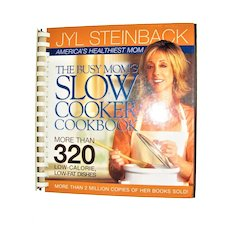 Busy Mom's Slow Cooker Cookbook by Jyl Steinback, HC Spiral, Like New