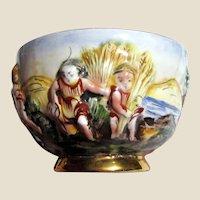 Small Capodimonte Harvest Themed Bowl 1336/104