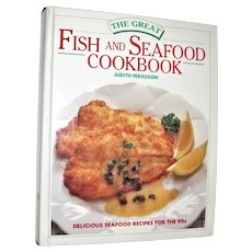 The Great Fish and Seafood Cookbook by Judith Ferguson | Hardcover, Nearly New