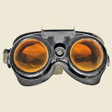 WWII Army Air Corp (Air Force) Bomber / Gunner Polaroid Variable Density Goggles