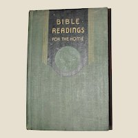 Bible Readings for the Home, 1946 Review & Herald, Scripture Study, 300+ Illustrations