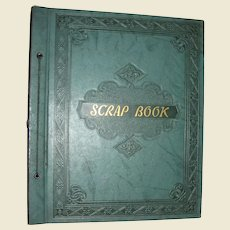 1940's/50's Magazine Clippings Scrapbook, Full Color, Charming!