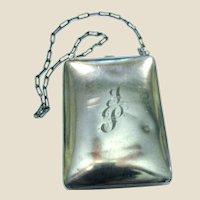 Sterling Silver Dance Purse 1922 Webster Co. VG+ 106 grams