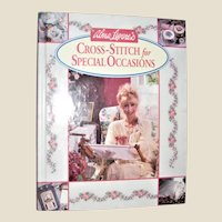 Cross-Stitch for Special Occasions by Alma Lynne's HC 1993 Signed by Author, Like New