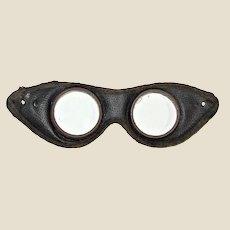 Circa 1930's Motorcycle Goggles