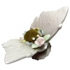 Vintage Ardalt Butterfly Pin Cushion, Lenwile China, Japan
