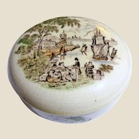 "Vintage ""Safe Harbour"" Trinket Box by Royal Staffordshire"